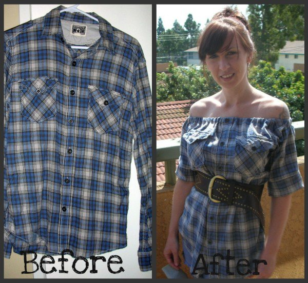 Genius Flanel Makeover That Every Girl Will Want