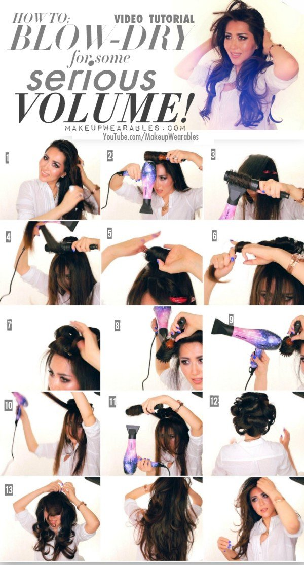 Super Useful Tips And Tricks For A Perfect Hairstyle and Big Volume
