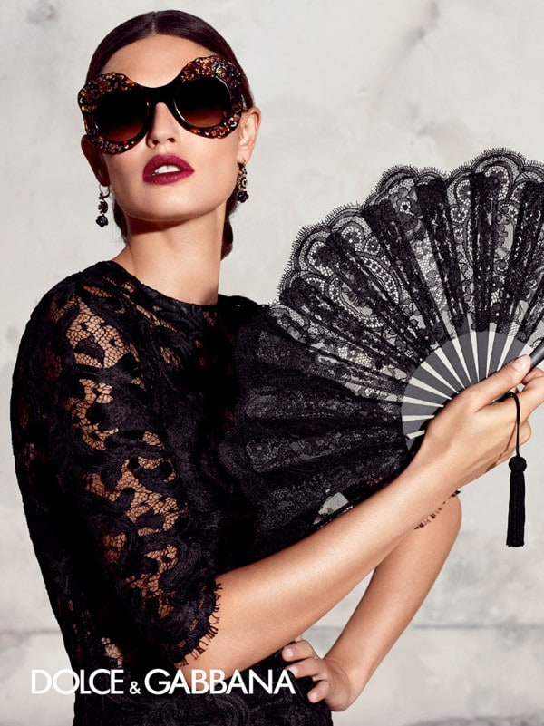 Bianca Balti Presents The Collection Of Amazing Sunglasses by Dolce & Gabbana
