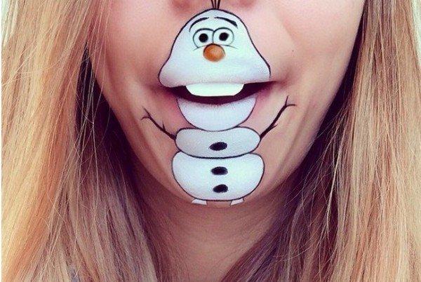 Creative and Impressive Lip Art Designs