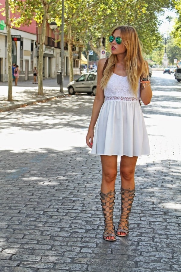11 Fancy Short White Dresses Perfect For This Season