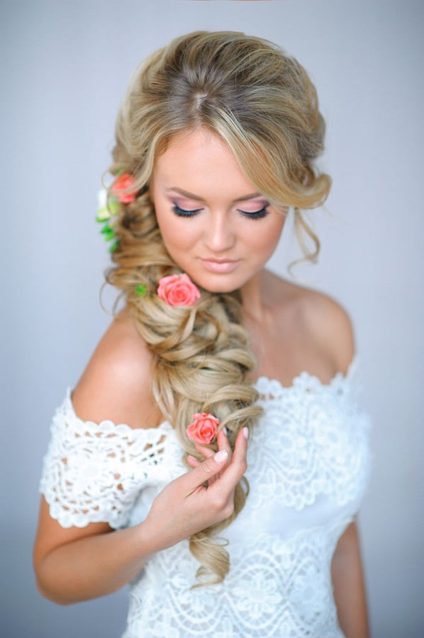14 Absolutely Amazing Bridal Hairstyle Ideas For Spectacular Wedding Party