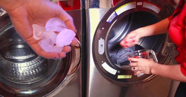 She Put Ice Cubes In The Dryer. The Reason? You Will Want To Try These Super Easy Tip Right Now