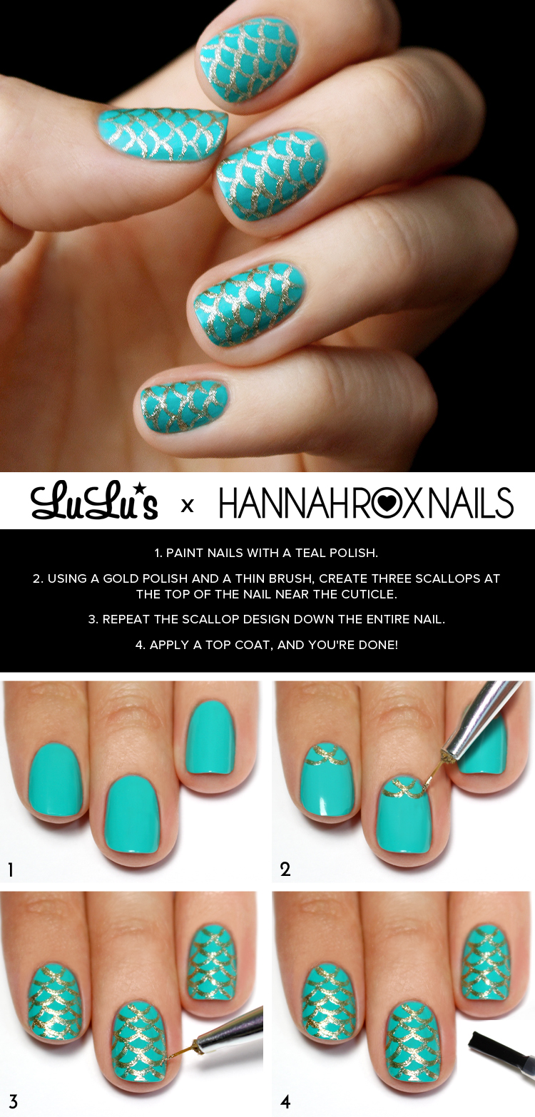 Make Nail Art Summer Flowers Nail Art Design Tutorial: 14 Diagrams For Spectacular Homemade Manicure You'll Love