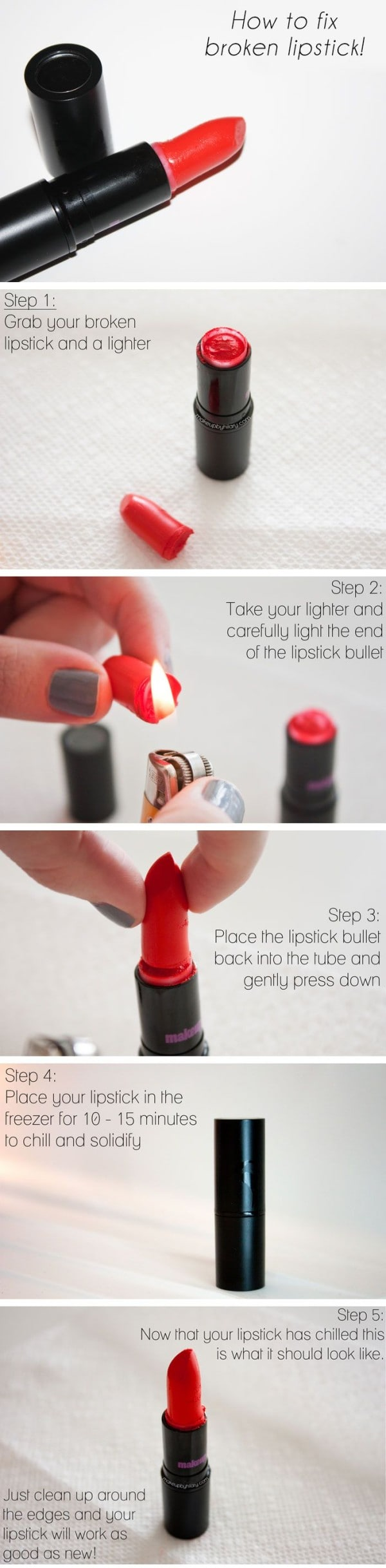 10 Absolutely Amazing Makeup Hacks That Will Save YOur Budget And Time