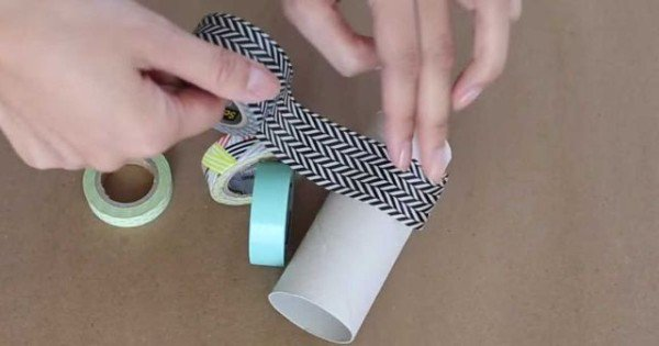 She Start Decorating An Empty Toilet Paper Roll And Creates An Amazing Home Solution