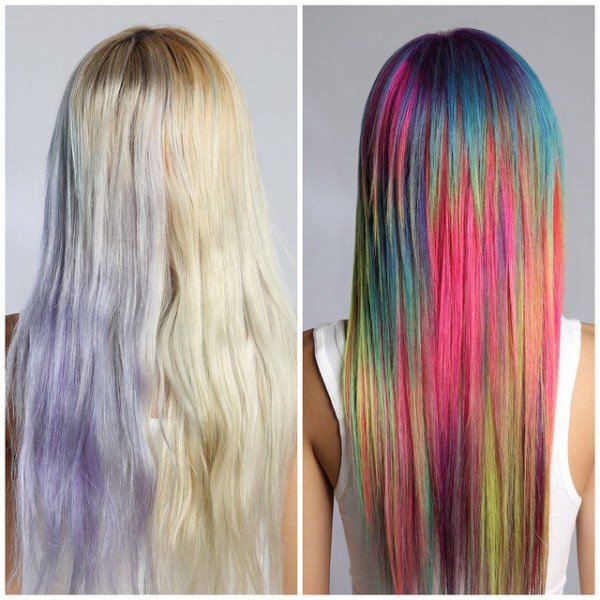 Sand Art Hair, Awesome New Hair Color Trend That You Need To Try