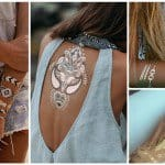Temporary Metallic Tattoos That You Would Love To Get This Summer