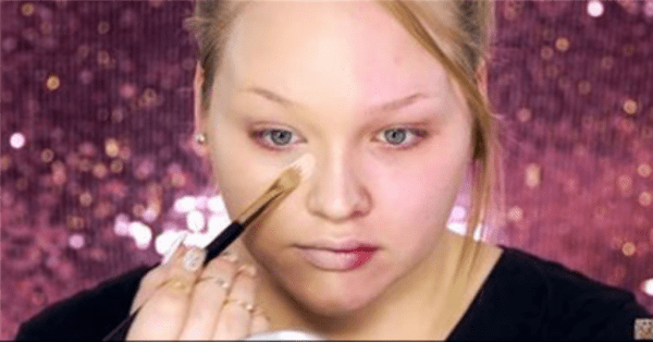 She Applies Makeup To Only Half Her Face. When Shes Done? You're Not Going To Believe THIS!