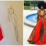 This 18 Years Old Designer Created Brilliantly Unique Dress For His Prom Date And Becomes A Viral Instagram Hero
