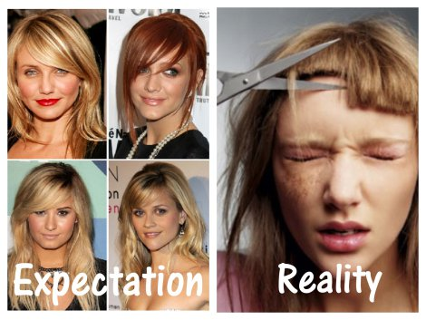 14 Expectation vs Reality Hairstyles Everyone Can Relate To
