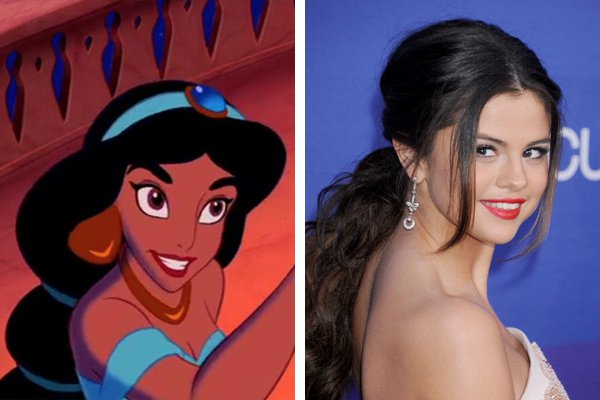 11 Celebs Who Totally Look Like Disney Characters