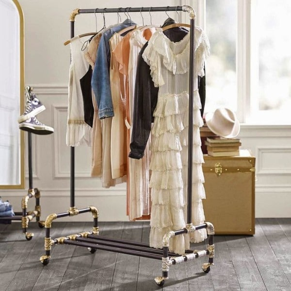 14 Lovely DIY Clothing Storage Ideas That Will Make You More Space