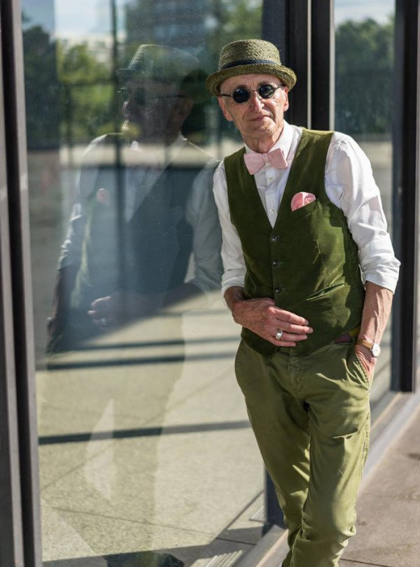 This 104 Year Old Grandpa Expresses Himself With Timeless Style