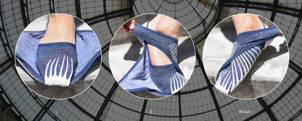 Amazing: These Japanese Inspired Shoes Literally Wrap Around Your Feet