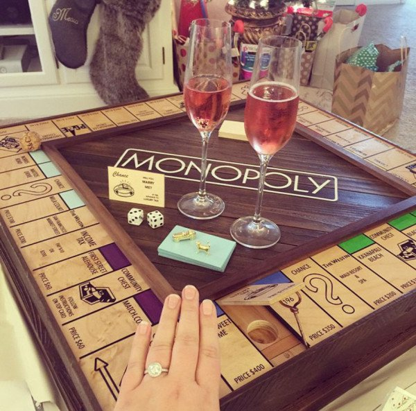 This Guy Created Amazing Custom Made Monopoly and Proposed His Girlfriend