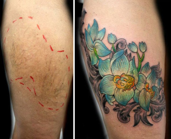 This Woman Does Free Tattoos For Women To Cover Up The Scars Of Violence