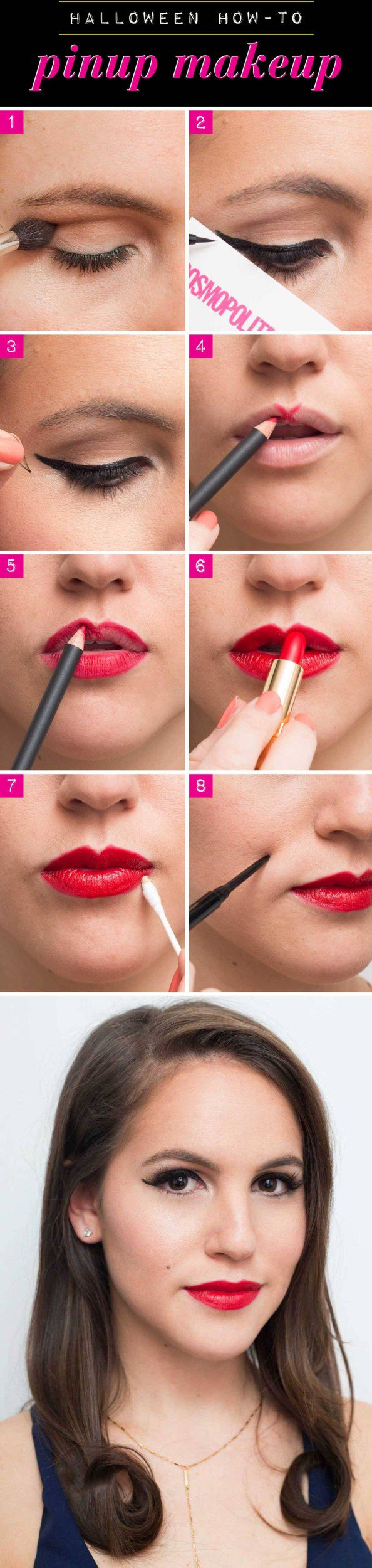 8 Super Easy Halloween Looks That You Can Create With Makeup That You Already Have