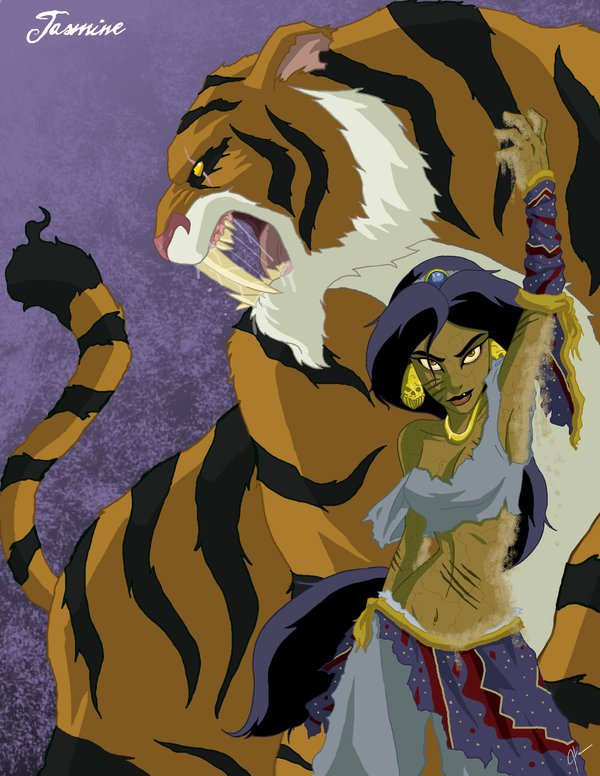 If Famous And Cute disney Princesses Were Twisted Badasses For Halloween