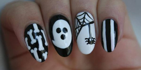 16 Fantastic Spooky Halloween Nail Art Inspirations That You Should Try