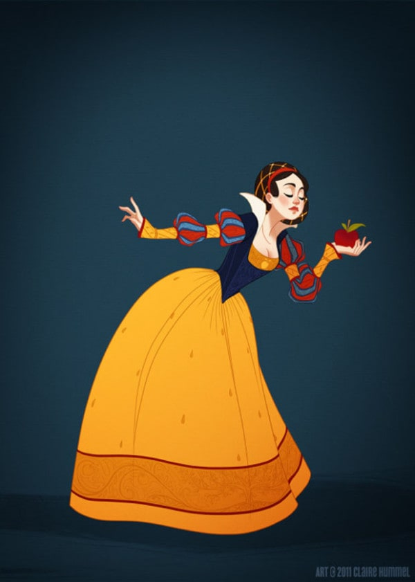 Interesting: If Disney Princess Dresses Were Historically Accurate