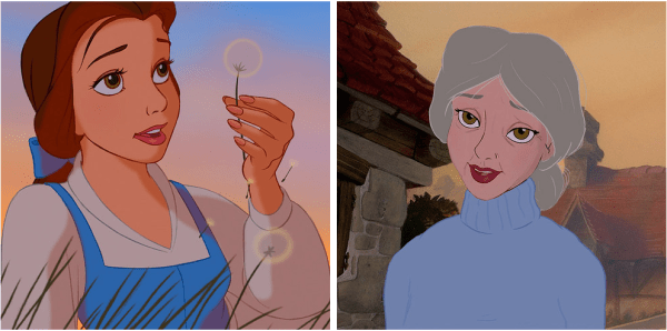 What Disney Characters Will Look Like If They Were Old