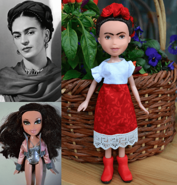 So Creative   This Artist Removes Make Up From Hollywood And Disney Dolls To Turn Them Into Inspiring Real Life Women