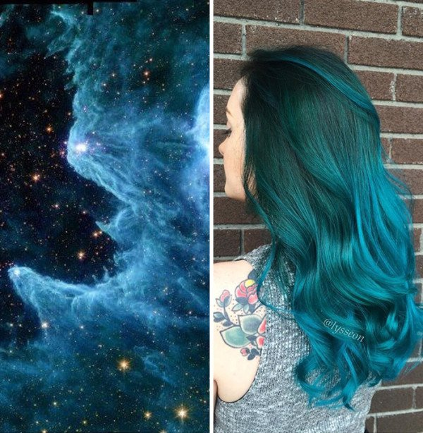 An Incredibly New Hair Color Trend   Galaxy Hair, You Are Going To Obsess Over