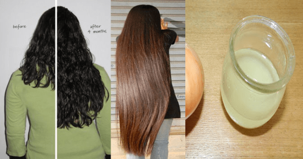 Awesome DIY Way With Only 1 Ingredient To Make Your Hair Longer, Shiny and Thicker