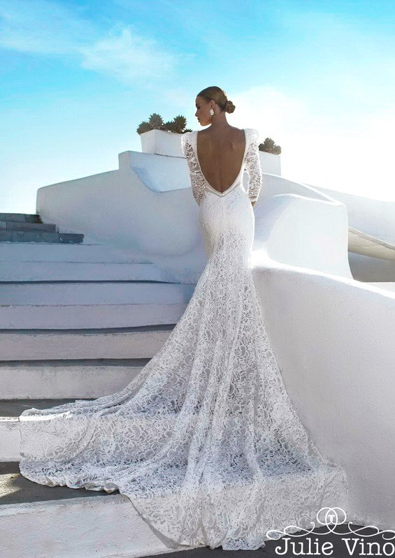 Santorini Collection: Wedding Dresses For Sensual Brides By Julie Vino