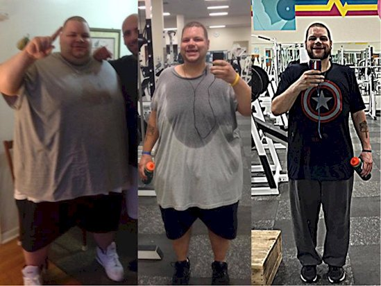 So Inspiring: This Guy Loses 425lbs in 700 Days...This Is Definitely The Best Transformation Ever