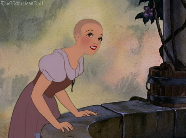 This Is What Disney Princesses Would Look Like With Short Hair. Snow White Is So Cool!