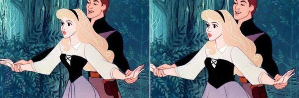 See What It Would Look Like If Disney Princesses Had Realistic Waistlines