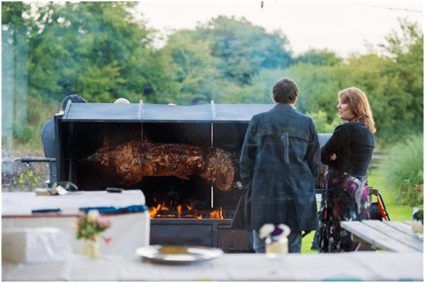 Why a Spit Roast Makes a Great Wedding Feast