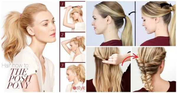 10 Simple And Easy Lazy Girl Hairstyle Tips That Are Done In ...
