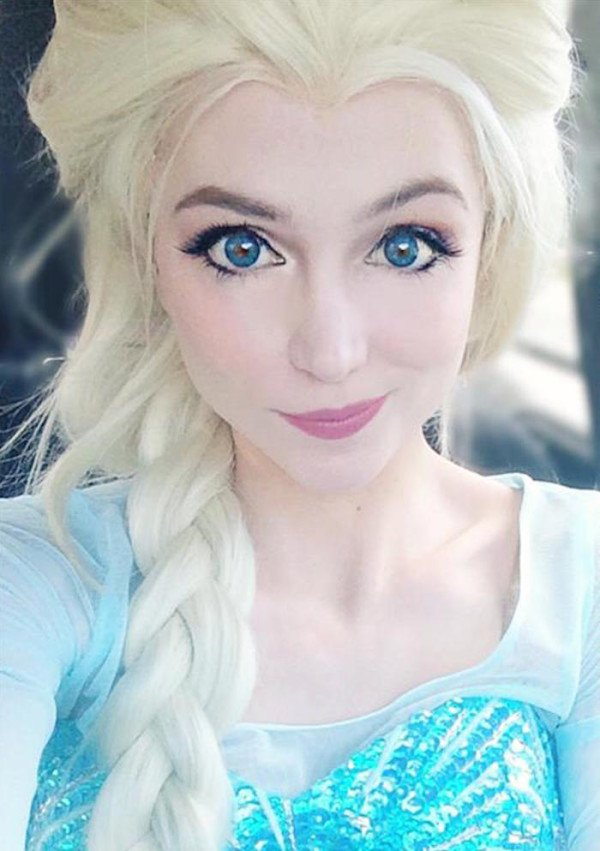 25 Year Old Woman Has Spent 14 000 To Look Like Disney