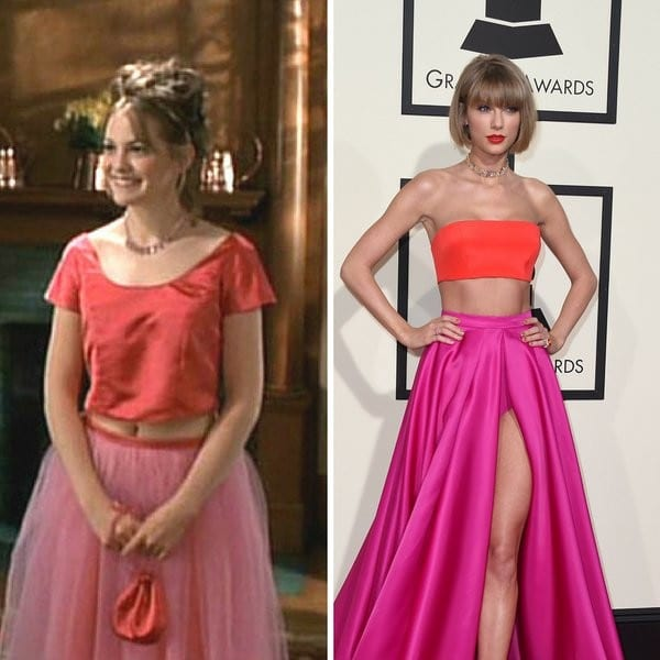 Everything That Taylor Swift Looked Like At The Grammy's