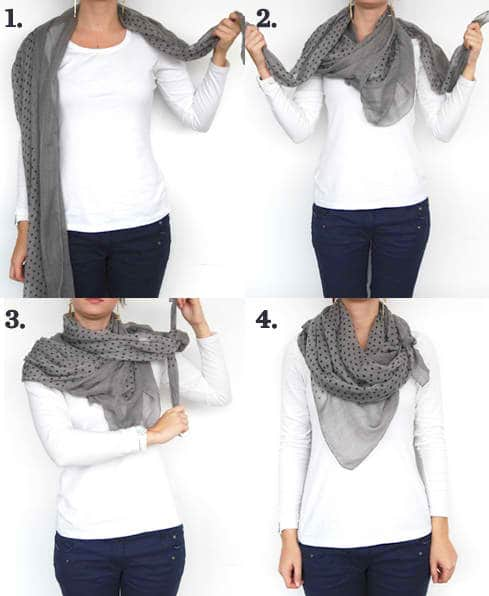 9 Brilliant And Stylish Way To Wear A Scarf These Season