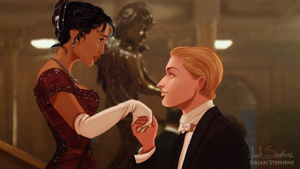 What Titanic Would Have Looked If Disney Couples Starred in