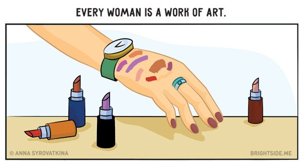 11 Creatively Funny Illustrations Every Women Will Understand