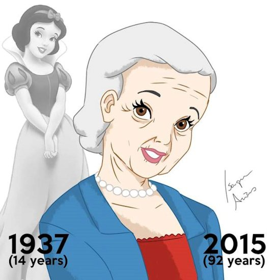 What Disney Princesses Would Look Like If They Are Aged With Their Movies