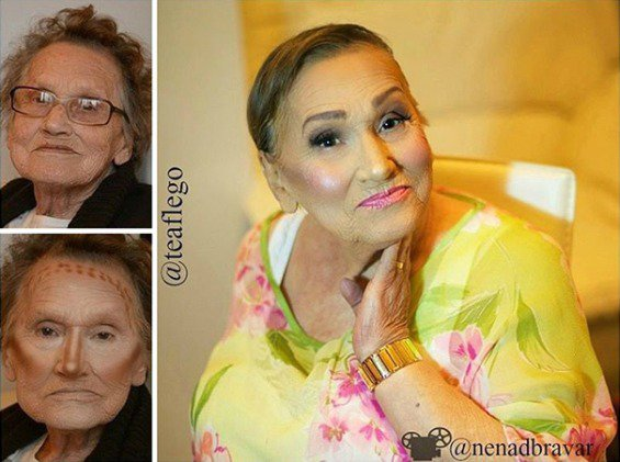 This Awesome Grandmas Makeup Transformation Will Slay Your Whole Life