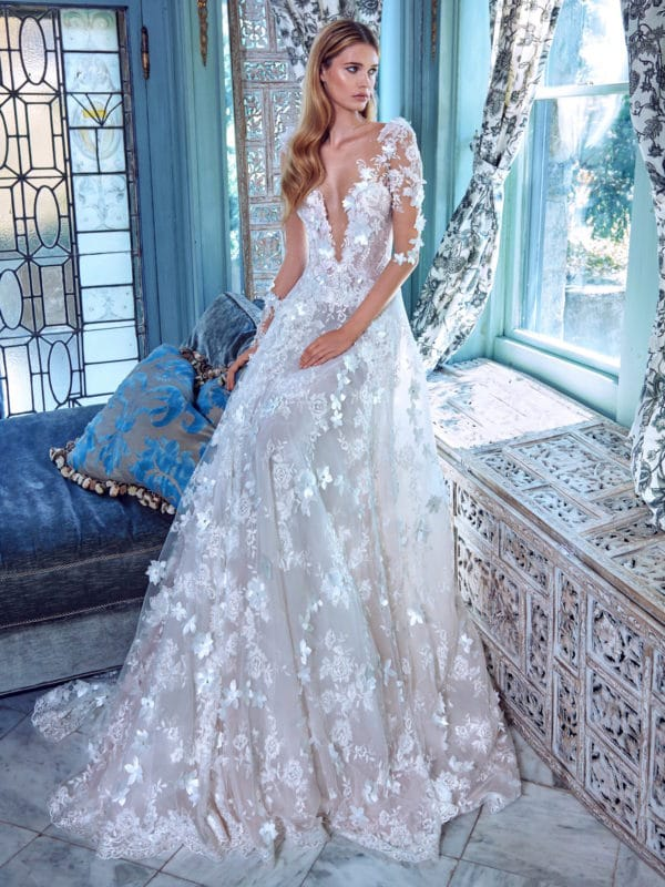 New Glamorous Bridal Spring 2017 Collection by Galia Lahav