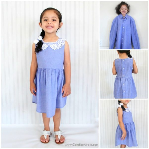 Cute Ways To Alter Old Tee Shirts Into Lovely Dresses For Your Little Girl