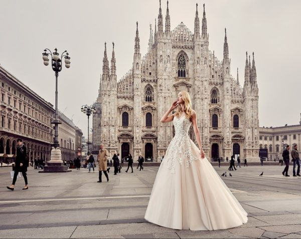 "The Breathtaking 2017 ""Milano"" Bridal Collection by Eddy K"