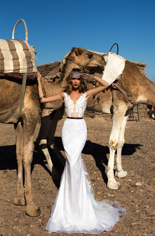 Charming And Appealing 'Desert Mistress' Wedding Gowns by Lorenzo Rossi