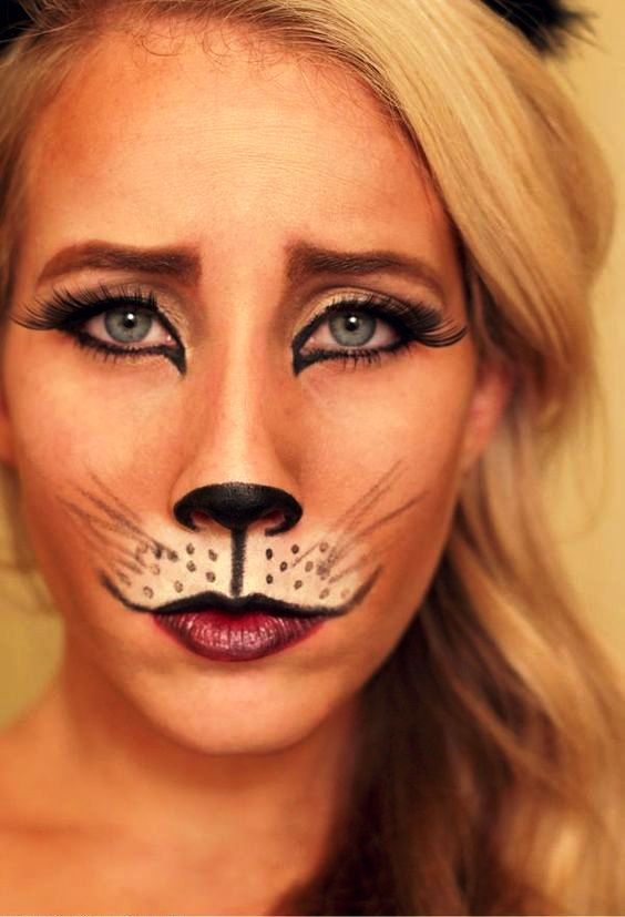 Halloween Transformation:  Cute Fox Makeup Ideas