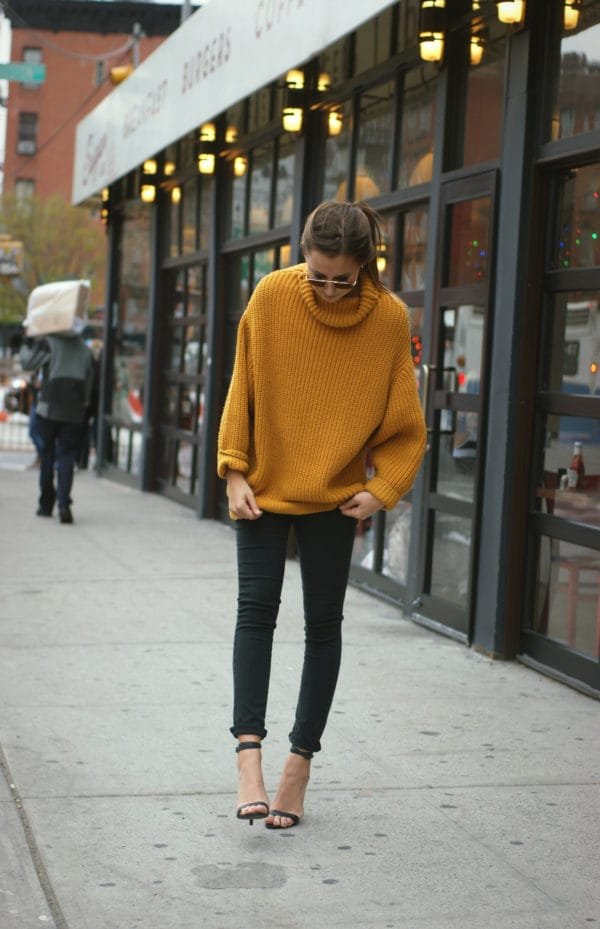 More Than A Regular Sweater: Ocher Sweater