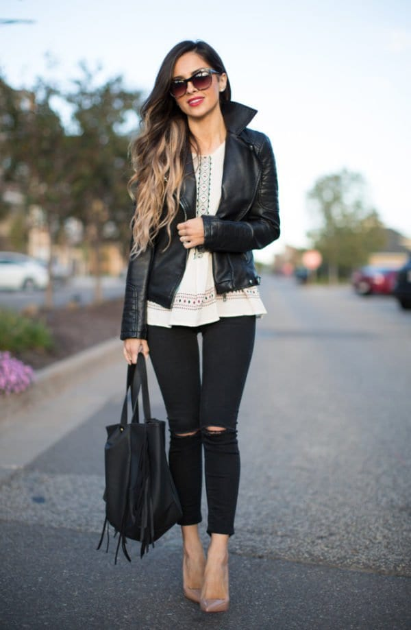 It Is A Mast Have: Black Jeans For Every Trendy Girl