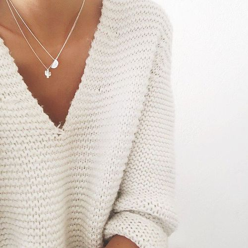 Necklaces In Winter: Nothing Else But Sexy And Irresistible Look